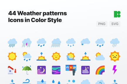 Color - Weather Patterns