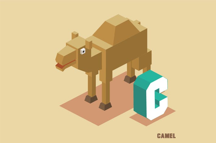 Thumbnail for C for Camel Animal Alphabet