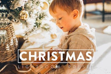 10 Christmas Lightroom Presets