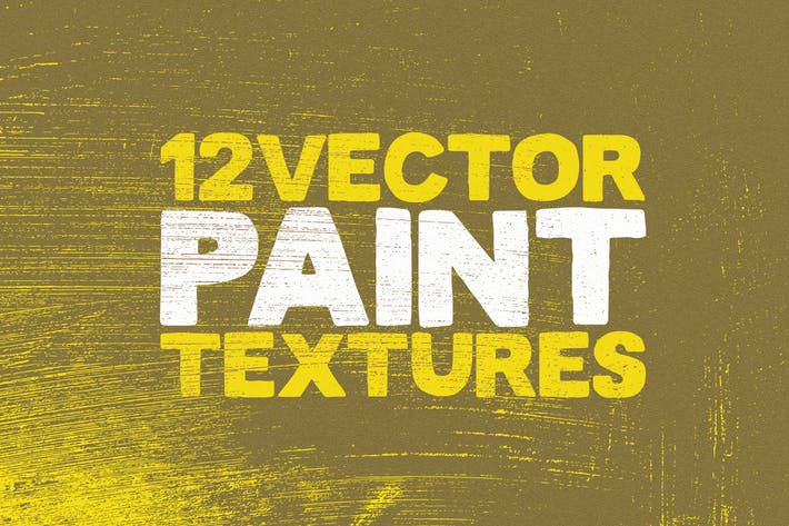 Thumbnail for Vector Paint Textures x12