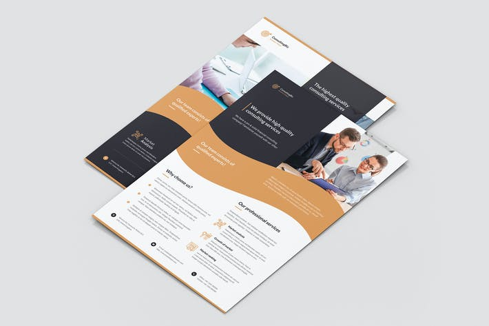 Cover Image For Flyer – Business Consulting
