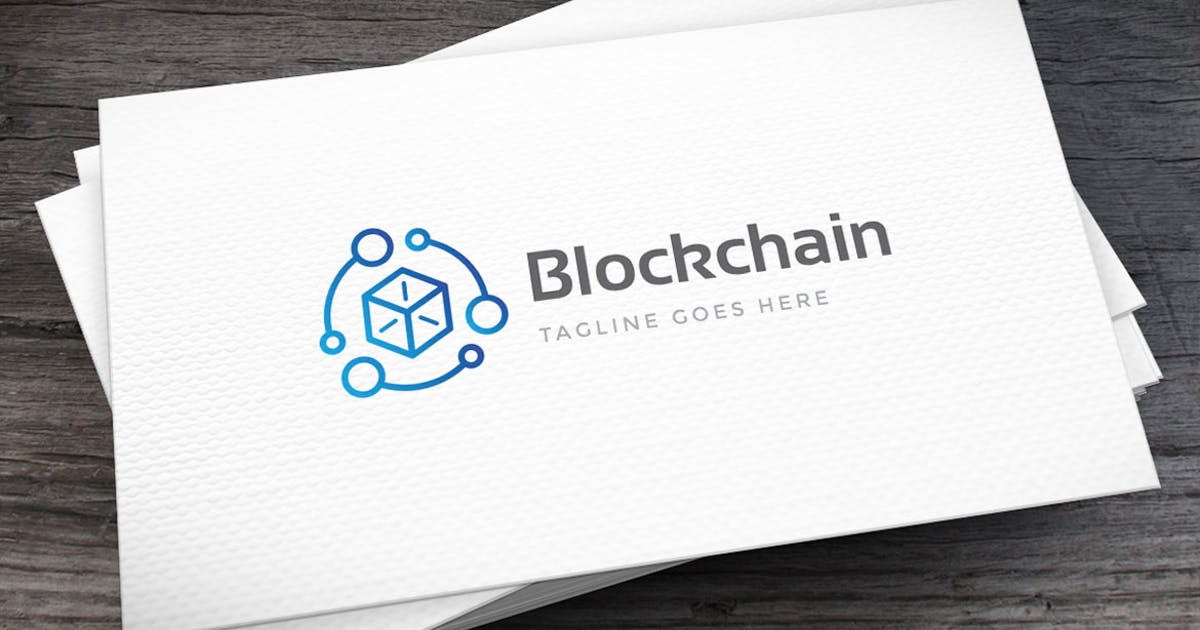 Download Block Chain Logo Template by empativo