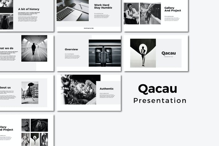 Thumbnail for Qacau - Powerpoint Templates