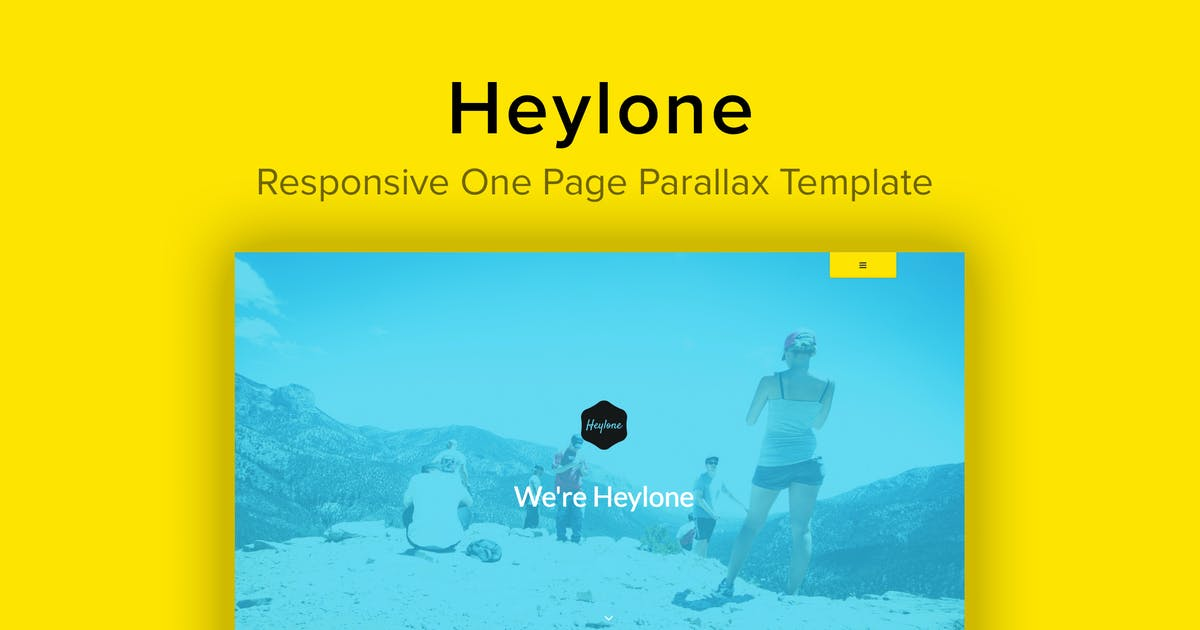 Download Heylone - Responsive One Page Parallax Template by imithemes