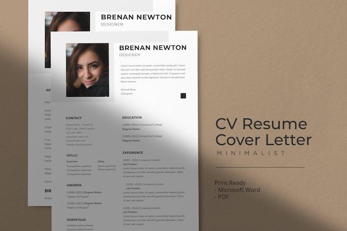 Thumbnail for Brennan Newton - Modèle de CV