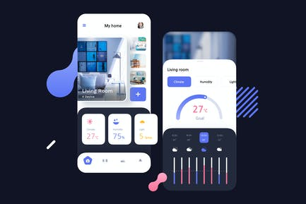 Smart Home Lifestyle Mobile UI - FV