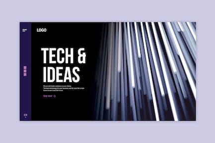 Technology Business - Landing Page