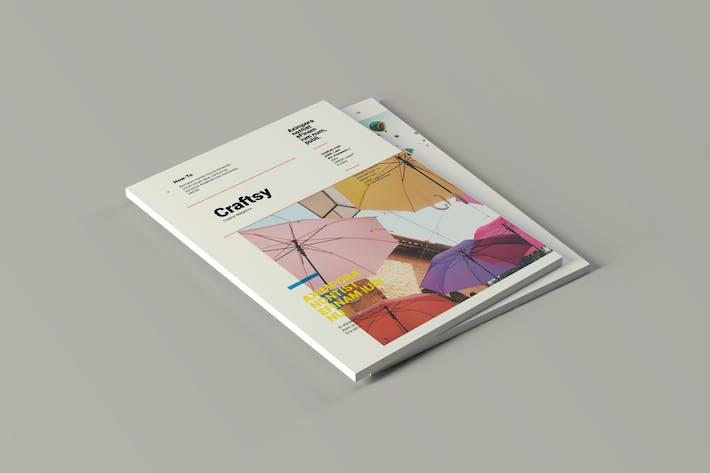 Thumbnail for Craftsy - ZeitschriftenVorlage