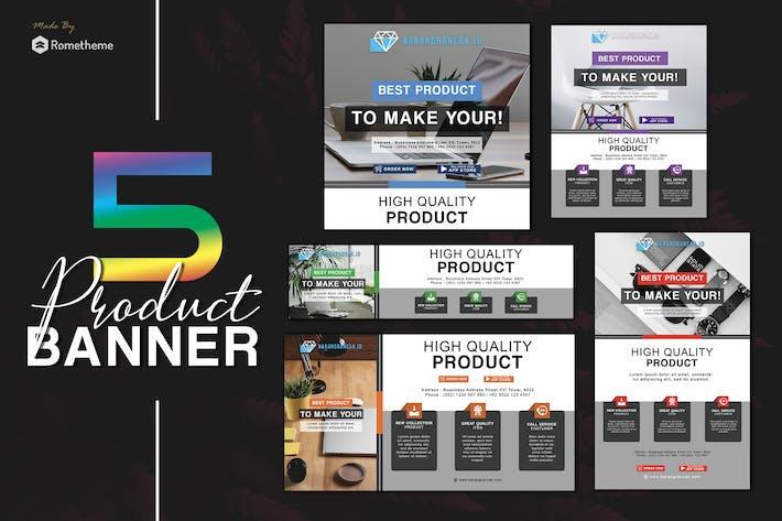 Thumbnail for Barang Rancak - Product Banner Pack HR