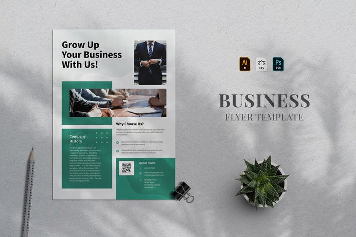 Business Flyer Template 29