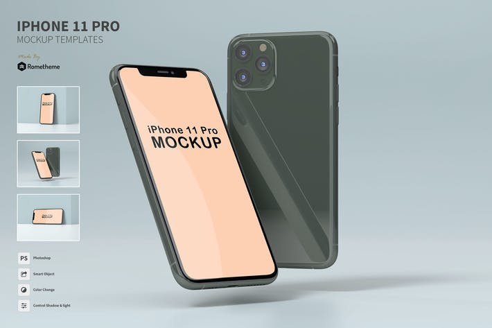Thumbnail for iPhone 11 Pro - Mockup FH