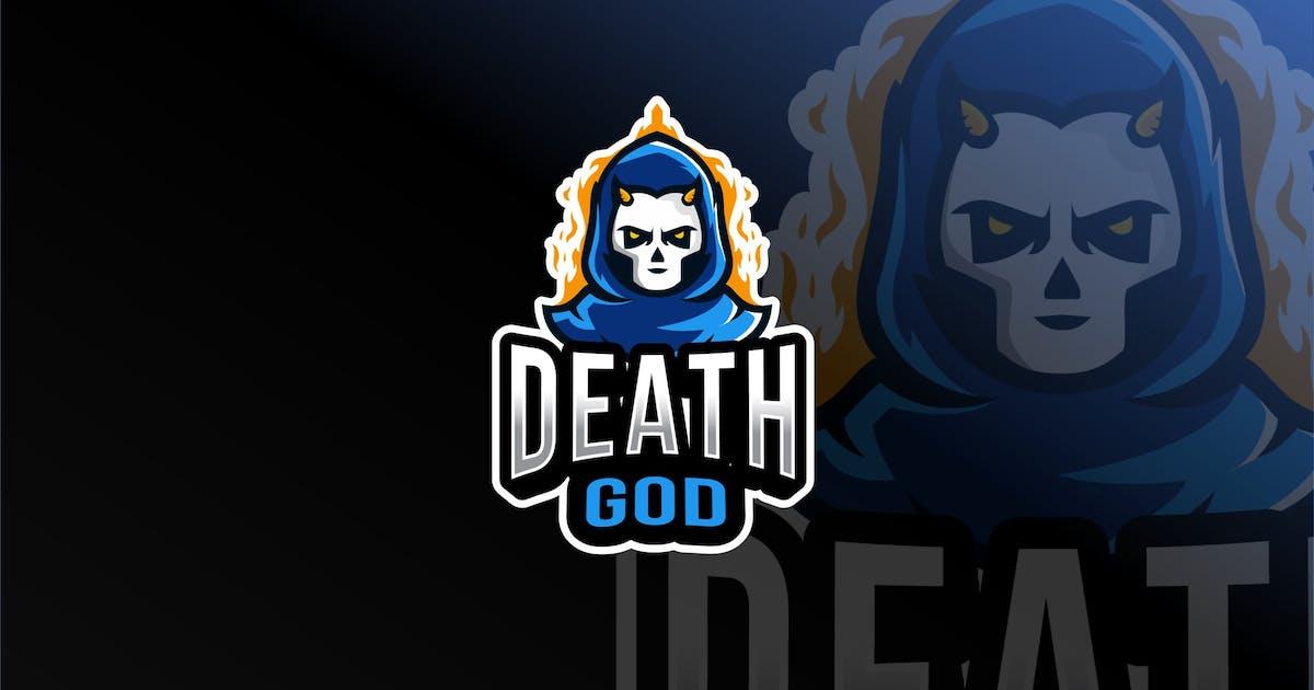 Download Death God Esport Logo Template by IanMikraz