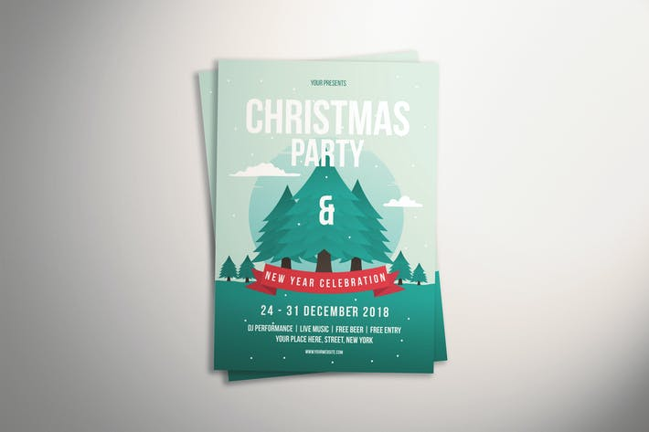 Thumbnail for Xmas Party Flyer