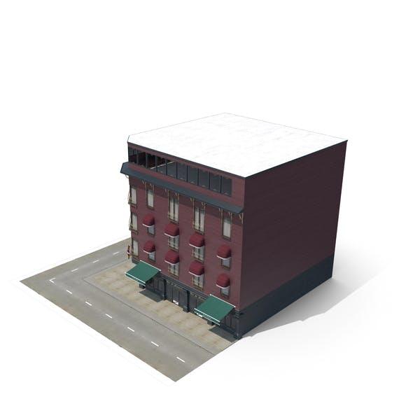 Corner Building - Pub & Restaurant & Hotel