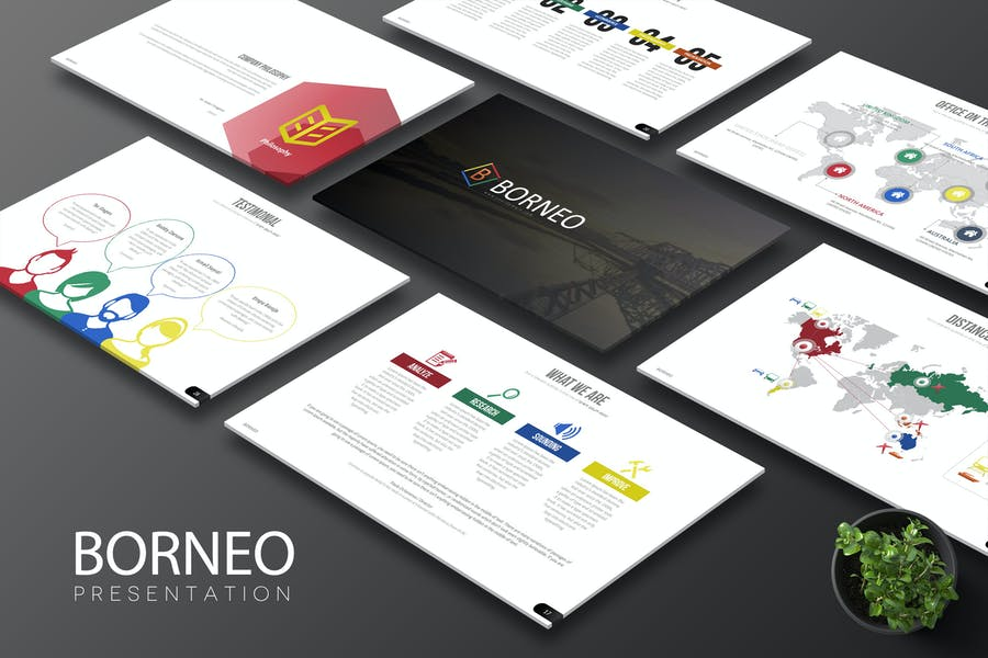 Borneo Google Slides - product preview 0