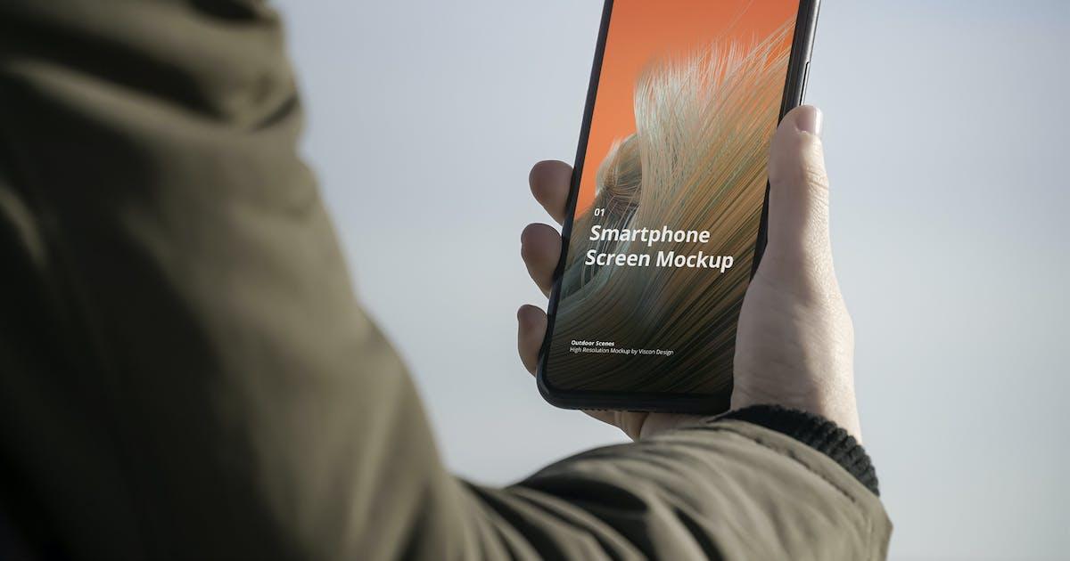 Download Phone Mockup Outdoor Scenes by visconbiz