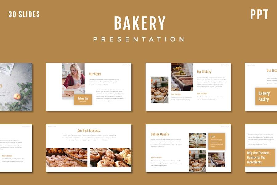 Bakery Presentation Template - (PPT)