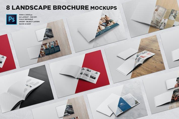 Thumbnail for Landscape Brochure Mockups