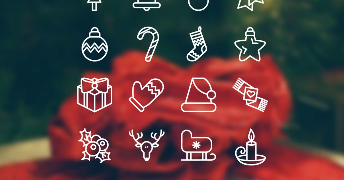 Download Christmas 16 Icons Set by Unknow