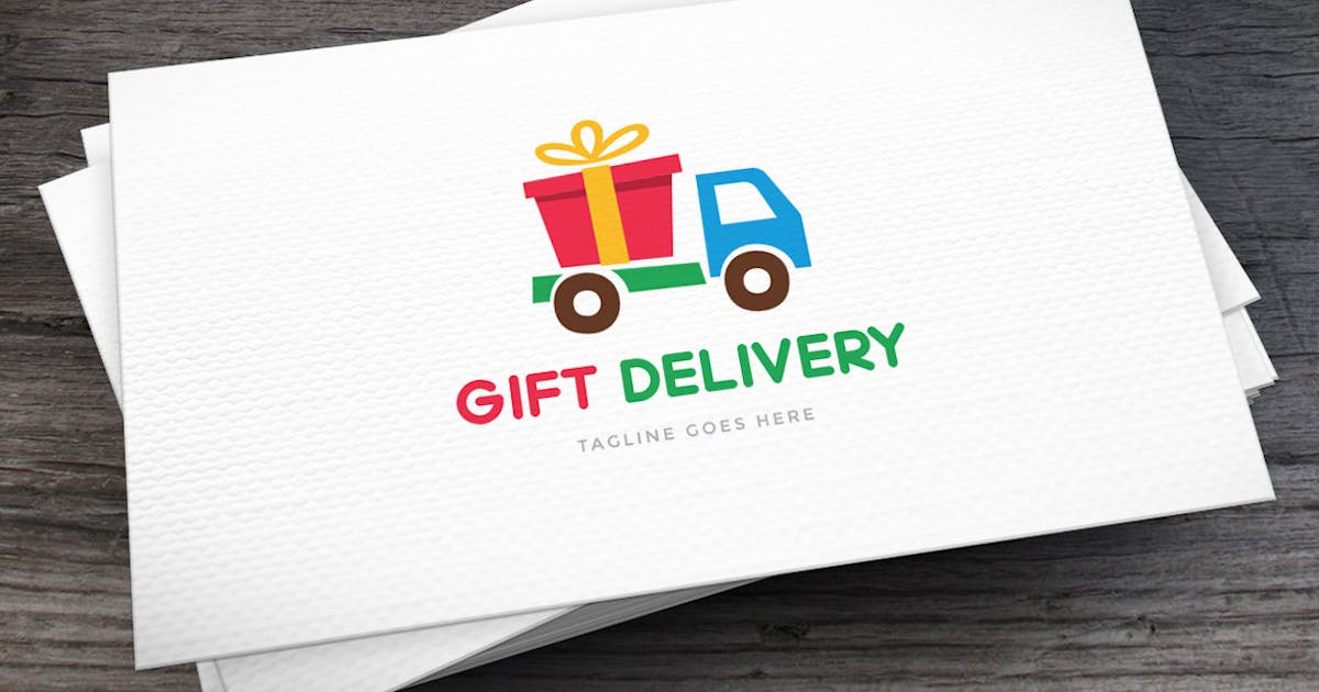 Download Gift Delivery Logo Template by empativo