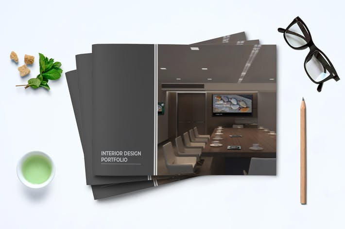 Thumbnail for Interior Design Portfolio Template