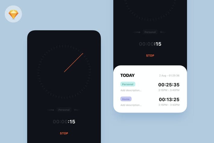 Thumbnail for Time Tracker App Kit