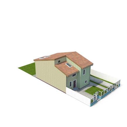 Duplex-Haus