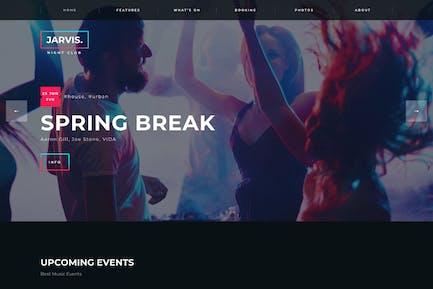Jarvis - Night Club, Concierto, Festival WordPress