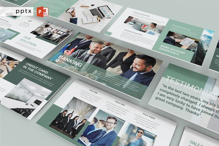 Thumbnail for BANKING - Powerpoint  V242