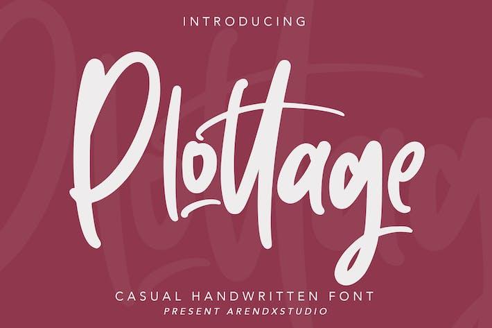 Thumbnail for Pottage - Handwritten Font