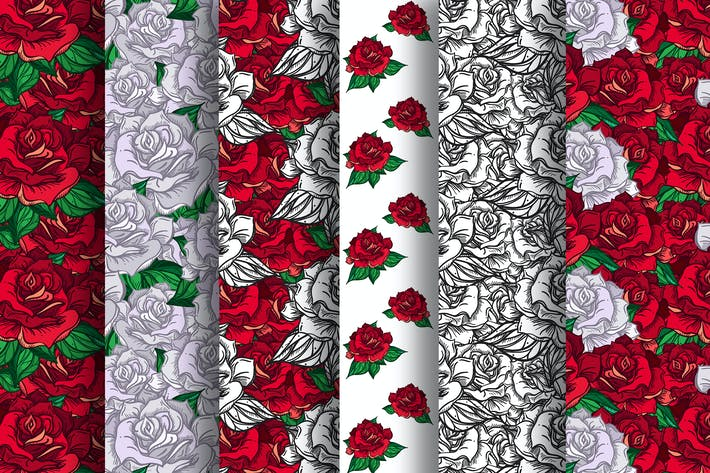 Thumbnail for Romantic Roses Patterns