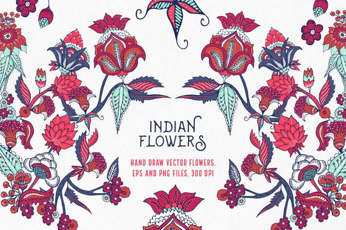 Thumbnail for Indian Flowers