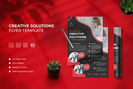 Creative Solutions - Flyer