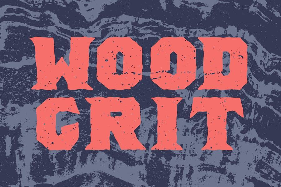 Wood Grit Textures