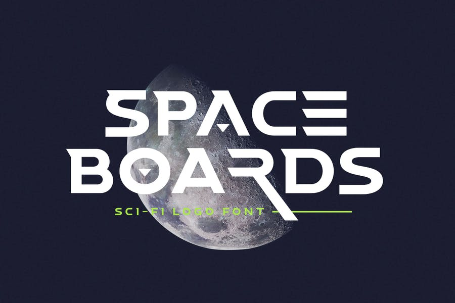 Space Boards - Police Logo science-fiction