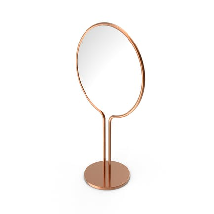 Copper Dressing Table Mirror