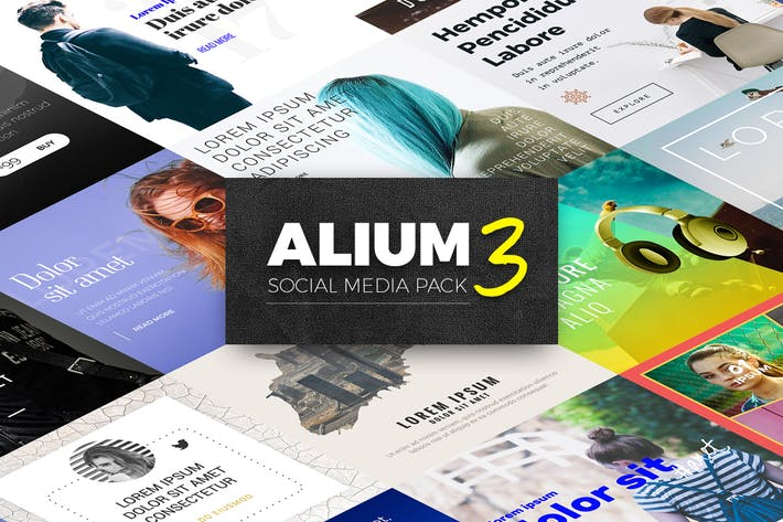 Cover Image For ALIUM 3 - Social Media Pack