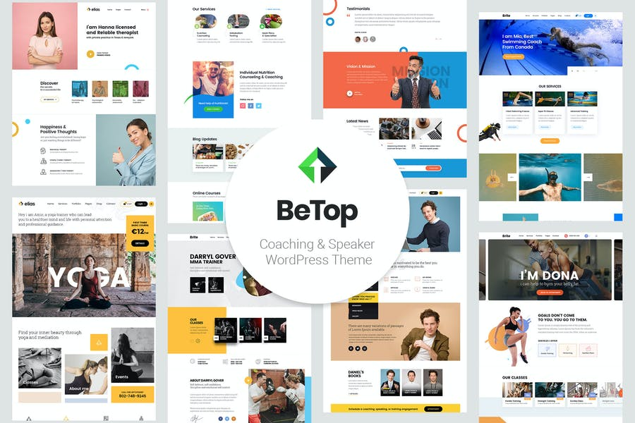 BeTop – Coaching & Speaker WordPress Theme