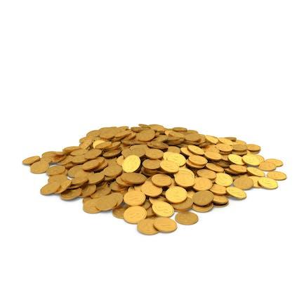 Gold Coin Pile