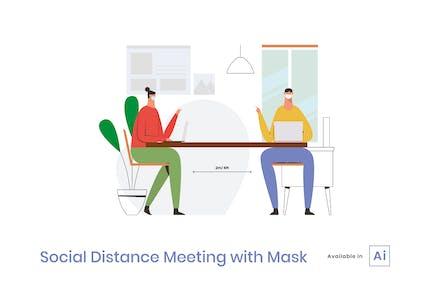 Social Distancing Meeting