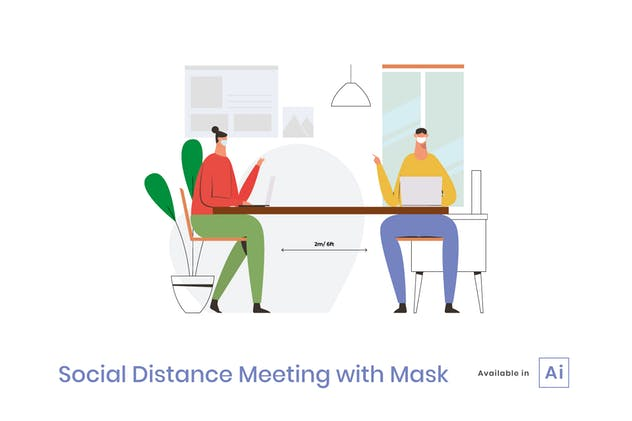 Social Distancing Meeting