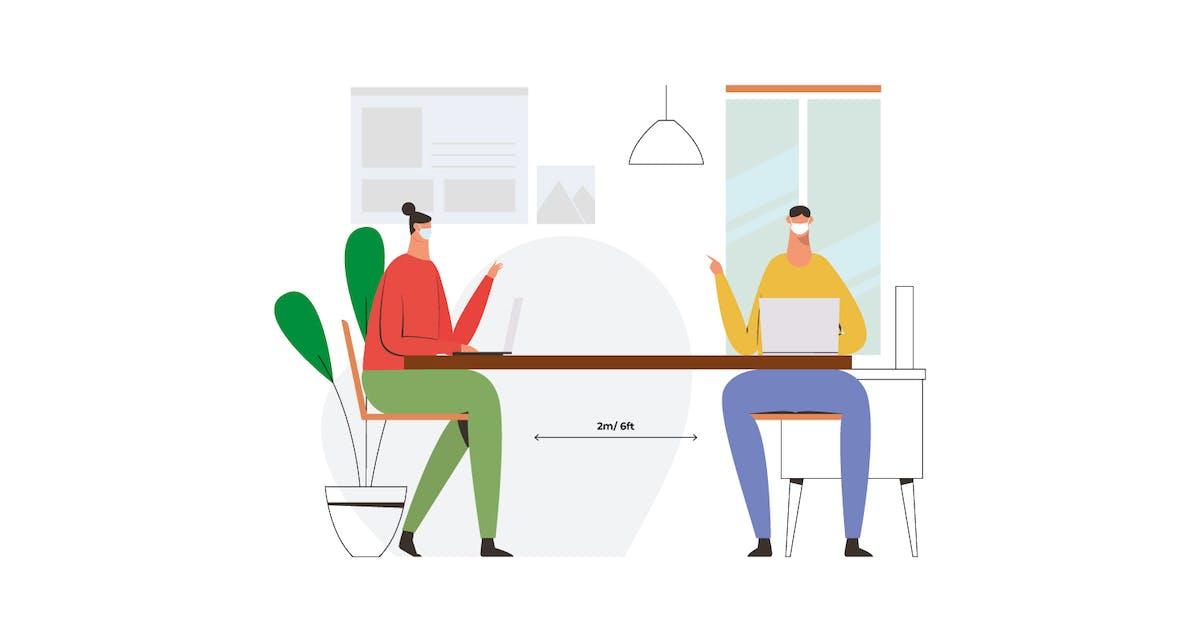 Download Social Distancing Meeting by visuelcolonie