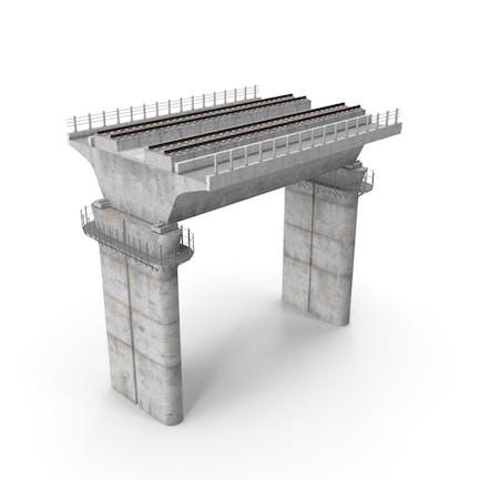 Abschnitt Eisenbahnbrücke