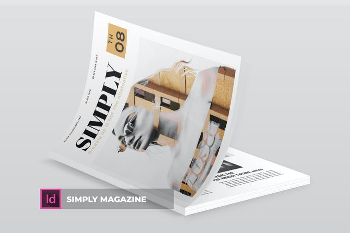 Thumbnail for Simply | Magazine Template