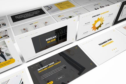 Pitchdeck Powerpoint Template