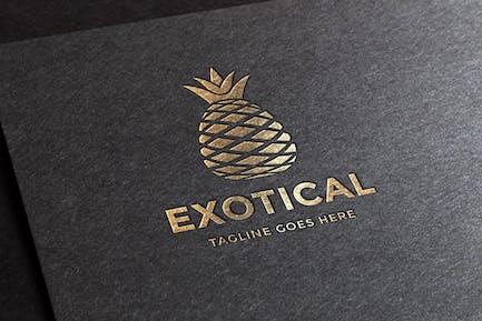 Exotische Logovorlage