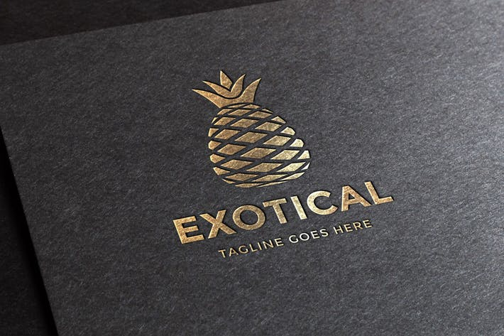 Thumbnail for Exotical Logo Template