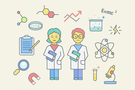 Science Education Clipart