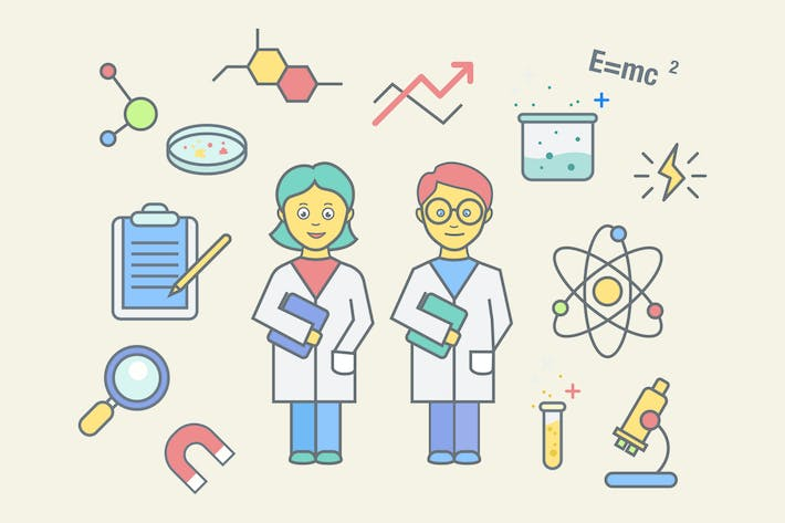 Thumbnail for Science Education Clipart
