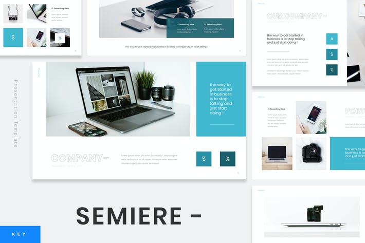 Cover Image For Samiere - Technology Keynote Template